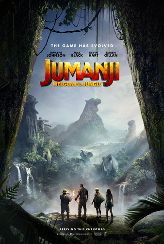 Jumanji fondo de pantalla called Jumanji: Welcome to the Jungle (2017) Poster
