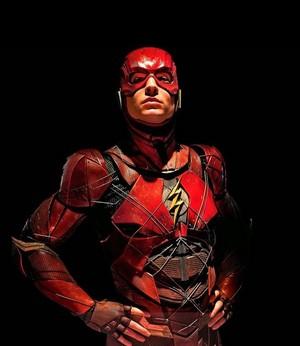 Justice League (2017) Cast Portrait - Ezra Miller as The Flash