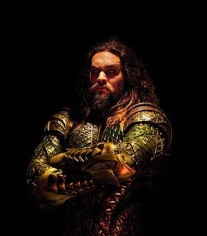 Justice League (2017) Cast Portrait - Jason Momoa as Aquaman