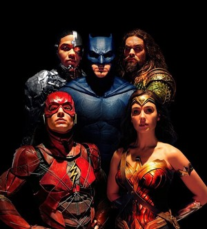 Justice League (2017) Group Portrait