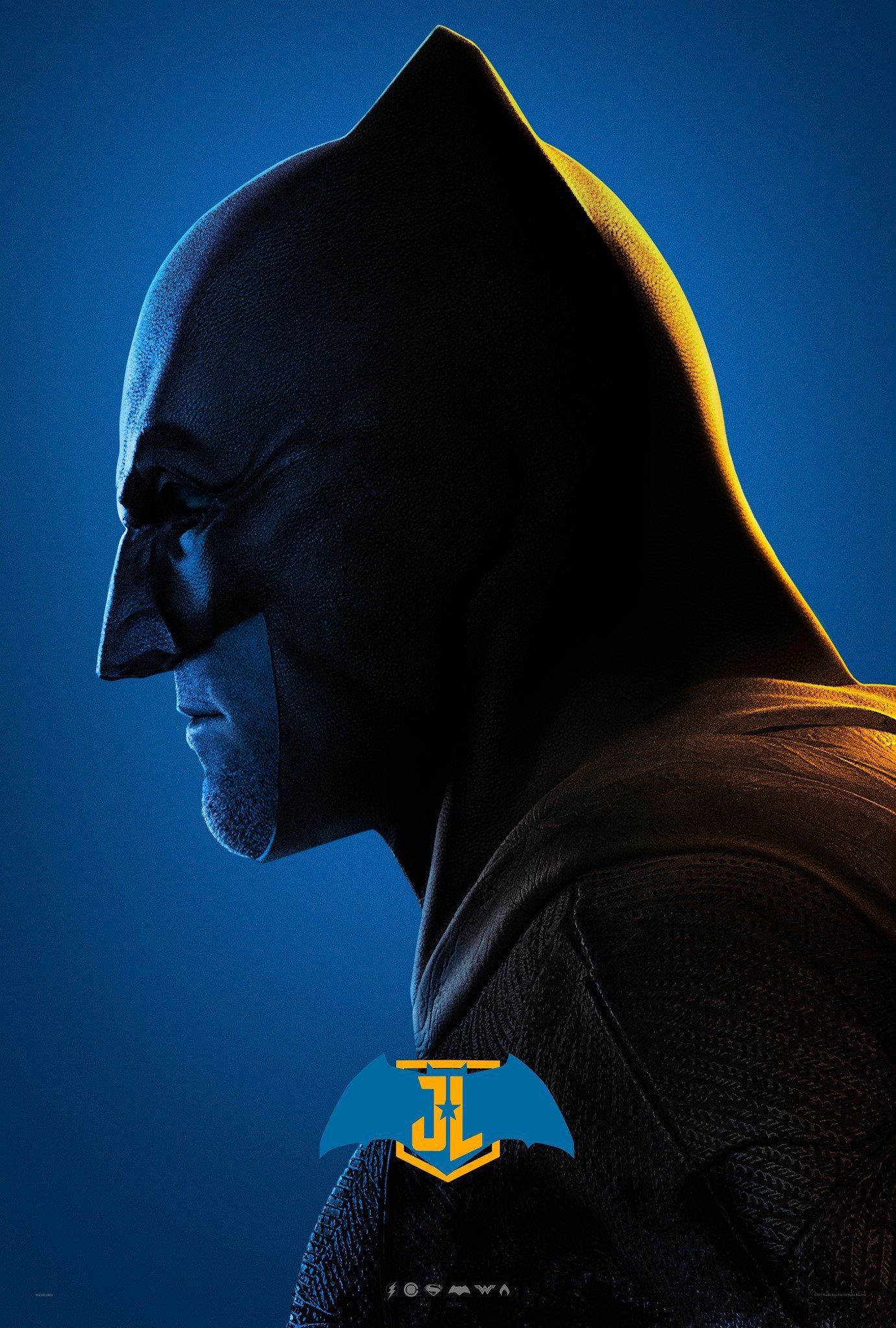 Justice League - Character profil Poster - Ben Affleck as Batman