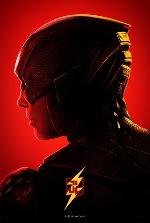 Justice League - Character プロフィール Poster - Ezra Miller as The Flash