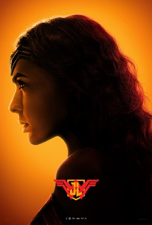 Justice League - Character پروفائل Poster - Gal Gadot as Wonder Woman