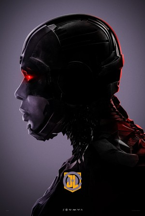Justice League - Character Профиль Poster - луч, рэй Fisher as Cyborg