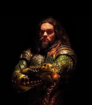 Justice League Portrait - Jason Momoa as Aquaman