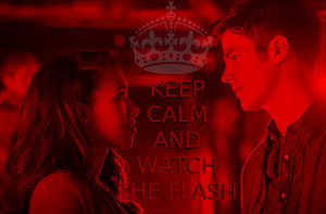 KEEP CALM AND WATCH THE FLASH