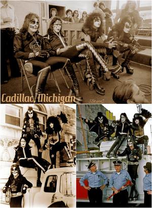 キッス ~Cadillac, Michigan…October 9-10, 1975