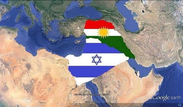 KURDISTAN 次 EGYPT COLONY ISRAEL