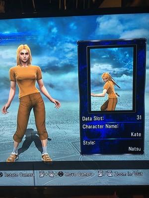 Kate in Soul Calibur 5