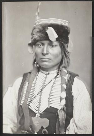Kiowa Apache chief Tau-Ankia (Son of Lone Wolf) Fort Matanzas, Florida (1887)