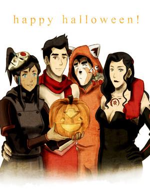 Korra Halloween