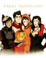 Korra Halloween - avatar-the-legend-of-korra fan art