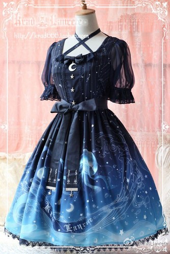 Lolita achtergrond titled Krad Laurete Lost in Sea