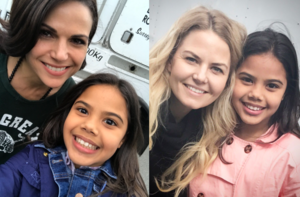 Lana and Jennifer with Alison Fernandez
