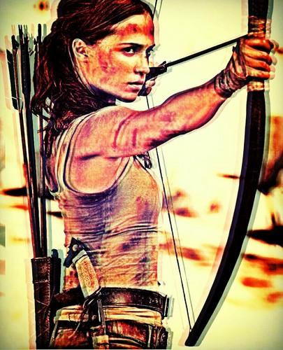 Alicia Vikander wallpaper titled Lara Croft.