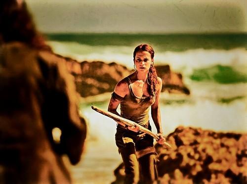 Alicia Vikander wallpaper called Lara Croft.