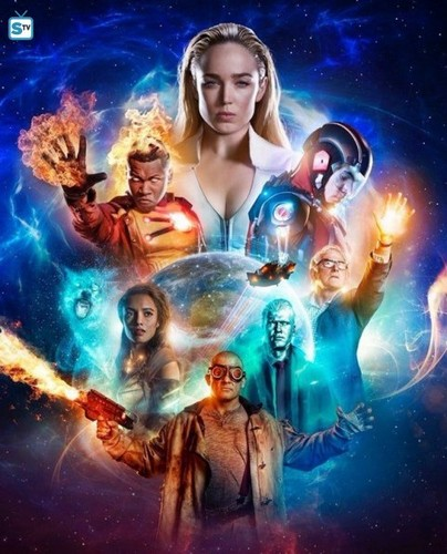 DC's Legends of Tomorrow fondo de pantalla titled Legends of Tomorrow - Season 3 - Key Art