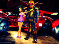 Let s race  Jak x Keira Hagai Combat Racing  edited edited - jak-and-daxter fan art