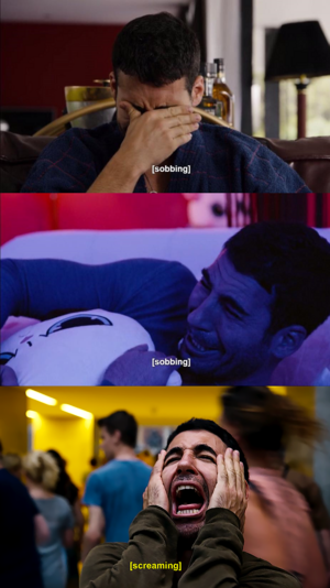 Lito being a drama Queen in season 2