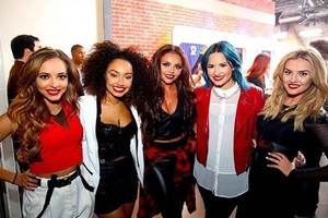 Little Mix and Demi Lovato