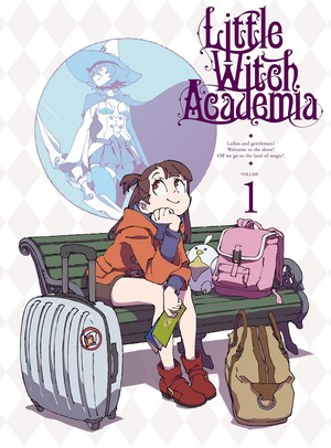 Little Witch Academia DVD Volume 1 Cover