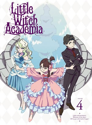 Little Witch Academia DVD Volume 4 Cover