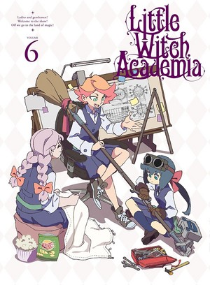 Little Witch Academia DVD Volume 6 Cover