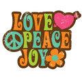 Love Peace Joy - the-60s photo