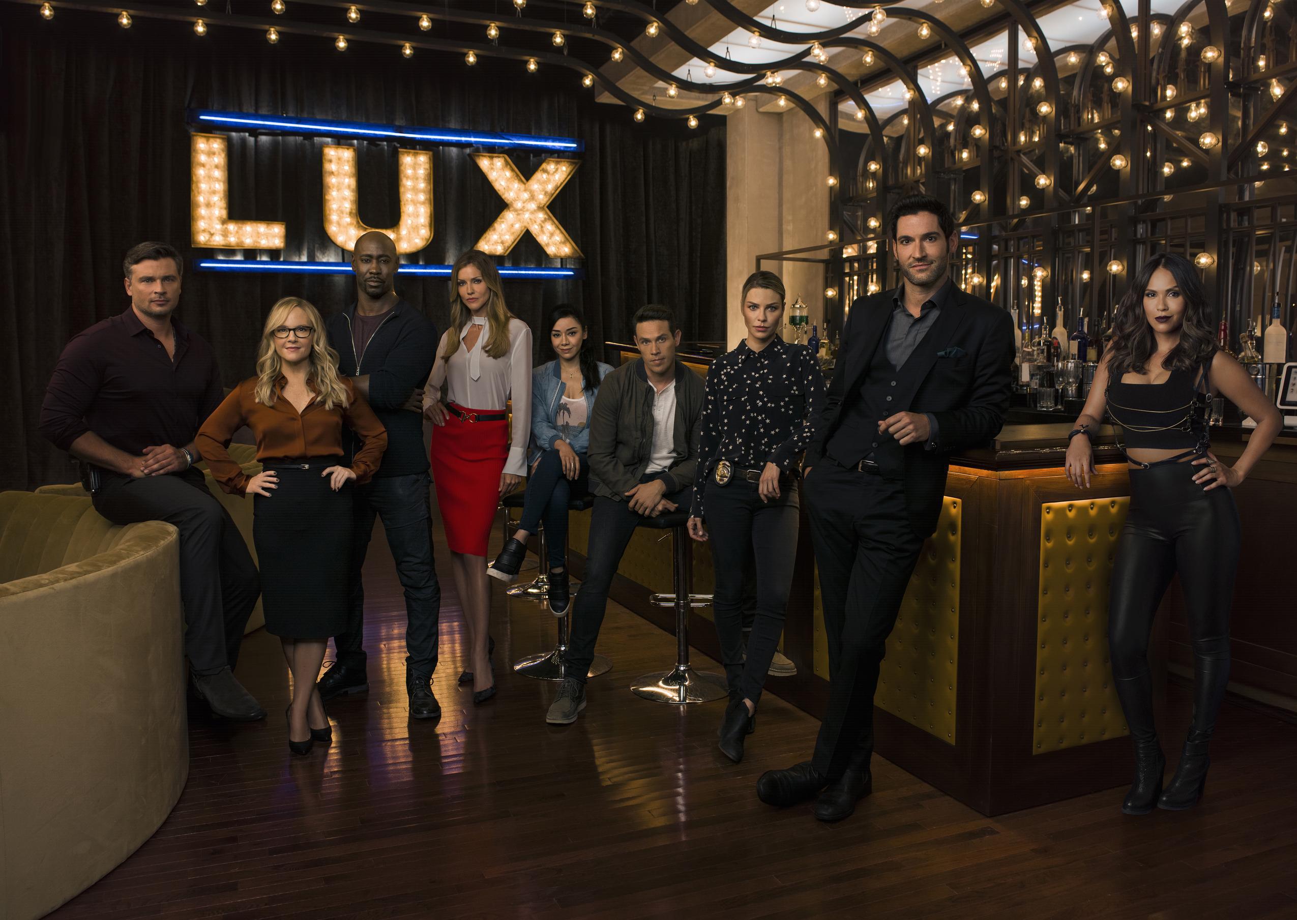 Lucifer - Season 3 - Cast Portrait
