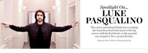 Luke Pasqualino in Matches Fashion Photoshoot