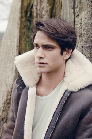 Luke Pasqualino in Out Magazine Photoshoot