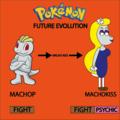 Machop's Future Evolution In 8°Generation - pokemon photo