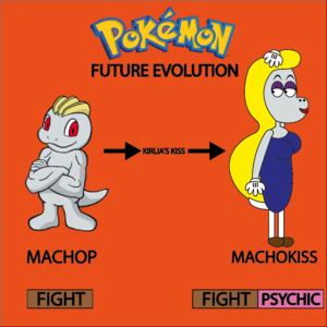 Machop's Future Evolution In 8°Generation