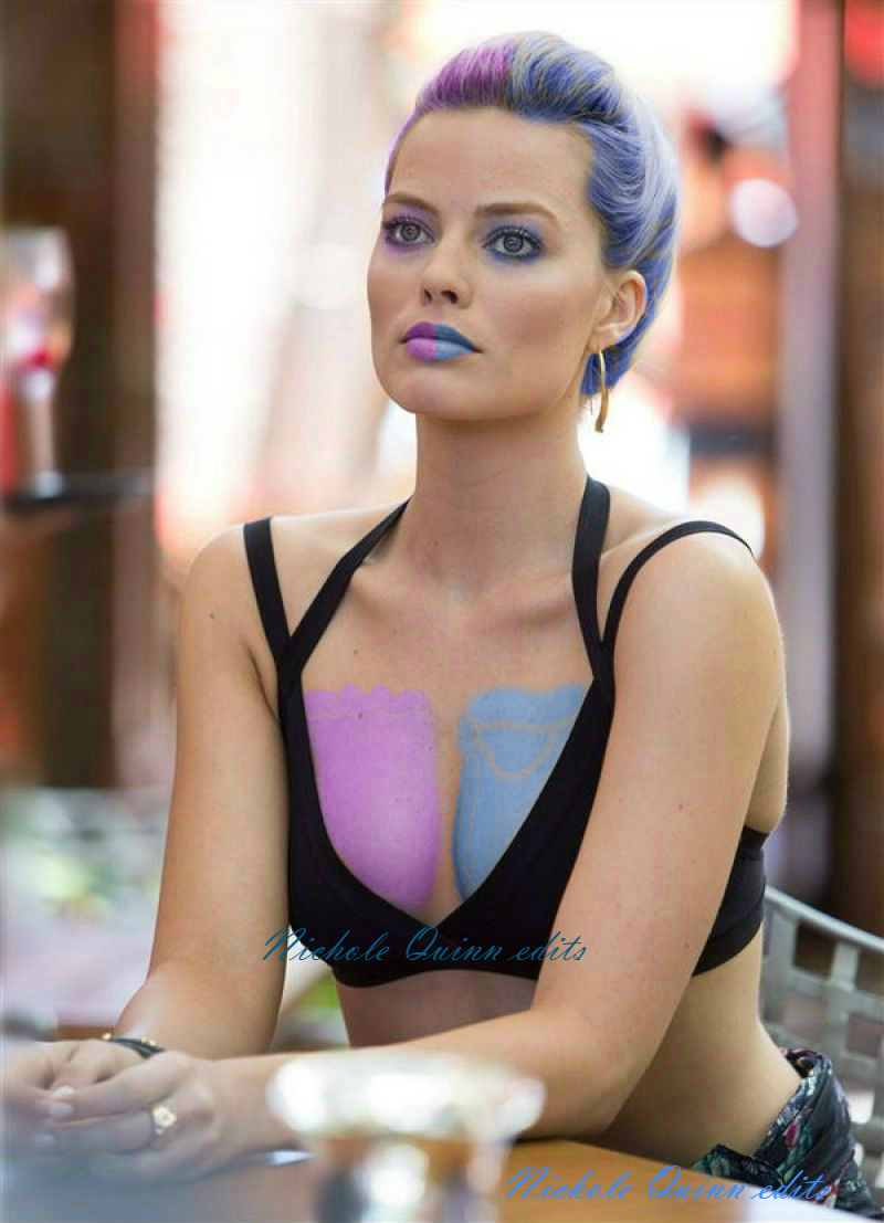 Margot Robbie Harley Quinn edit