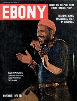 Marvin On The Cover Of EBONY Magazine