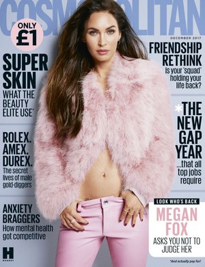 Megan zorro, fox ~ Cosmopolitan ~ December 2017