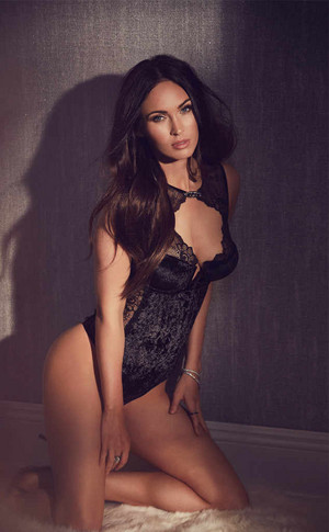Megan vos, fox ~ Frederick's Of Hollywood Campaign