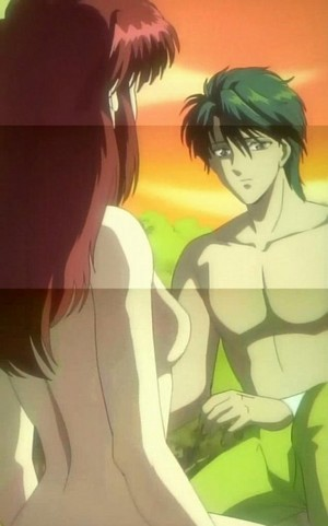 Miaka and Tamahome(Fushig Yuugi)