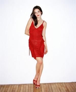 Michelle in Interview Magazine (2003)