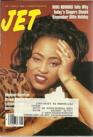 Miki Howard On The Cover Of Jet