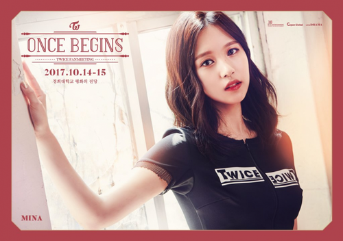Twice (JYP Ent) वॉलपेपर called Mina- Once Begins