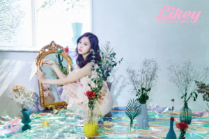 "Mina teaser image for ""Likey"""