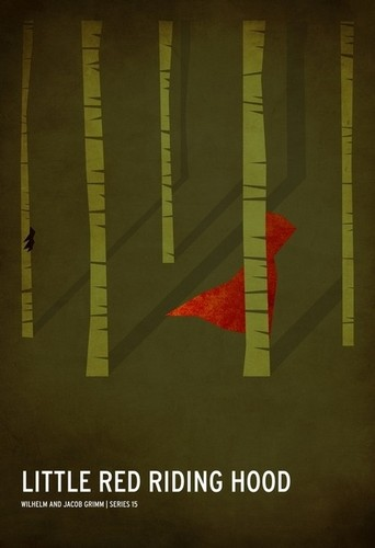 Fairy Tales & Fables wallpaper entitled Minimalist Little Red Riding Hood