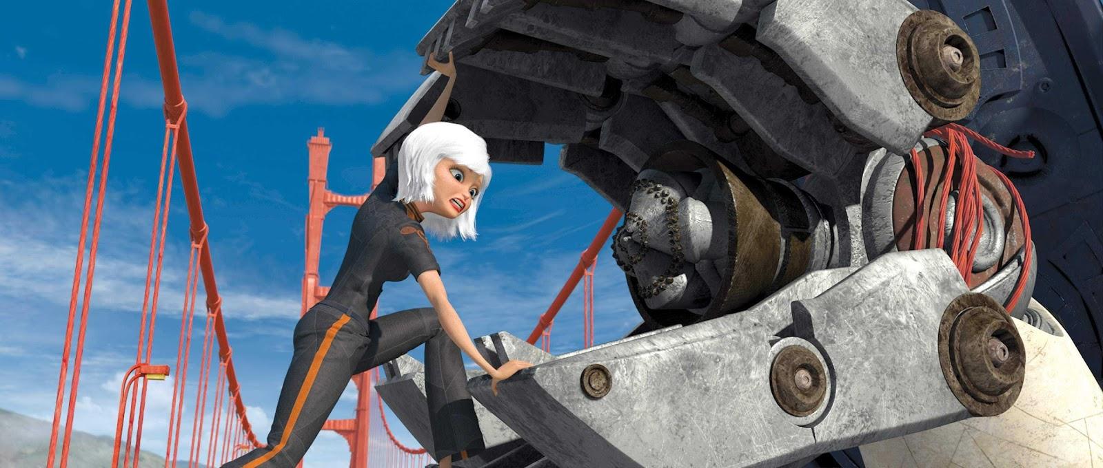 Monsters vs Aliens wallpapers desktop background HD 3D movie review  2