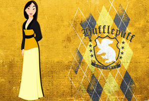 花木兰 in Hufflepuff