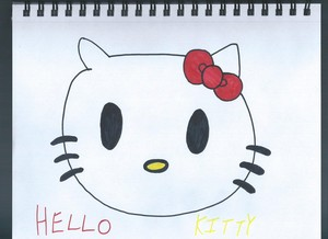 My drawing of Hello Kitty