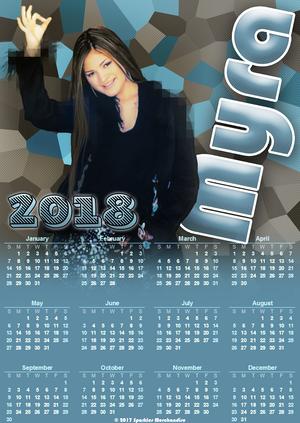 Myra 2018 Calendar