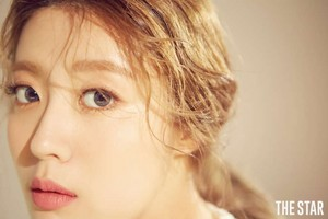 Nam Ji Hyun The ngôi sao Magazine August Issue '17