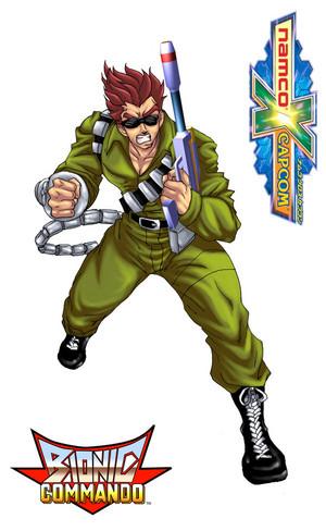 Namco x Capcom Bionic Commando
