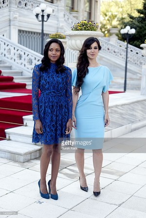 Naomi Harris And Berenice Marlohe